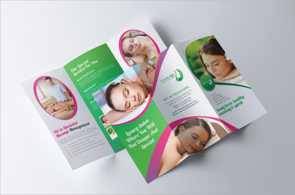 21 Spa Brochures Sample Templates