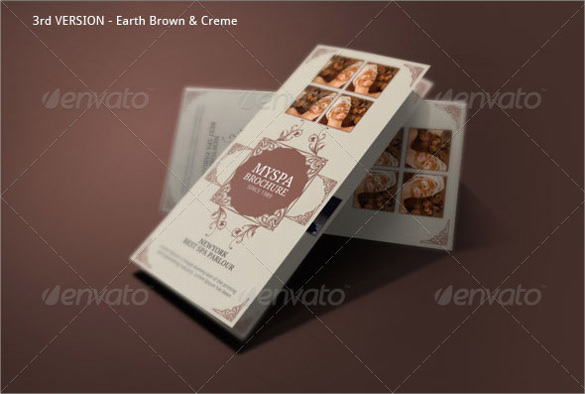 21 spa brochures sample templates for Attractive brochure designs