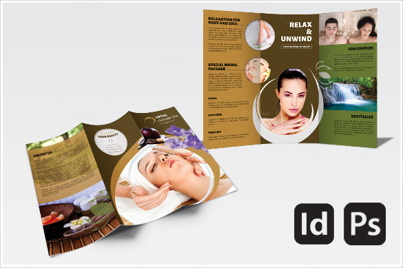 21 Spa Brochures PSD Vector EPS – Spa Brochure Template