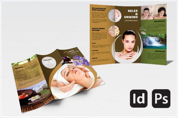 spa brochure templates - spa brochure template 20 download documents in vector