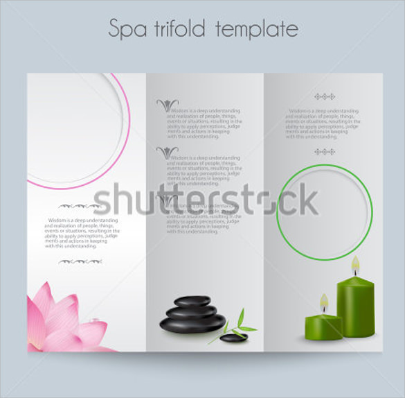 beautiful brochure templates - 21 spa brochures sample templates