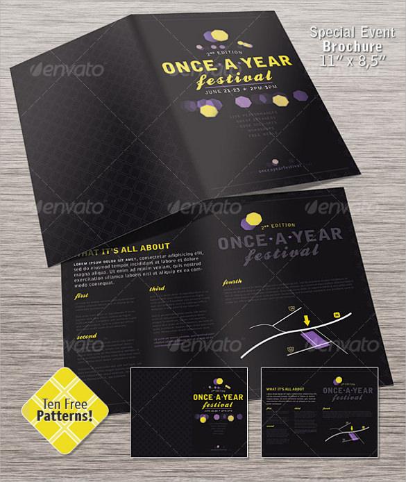 special event brochure