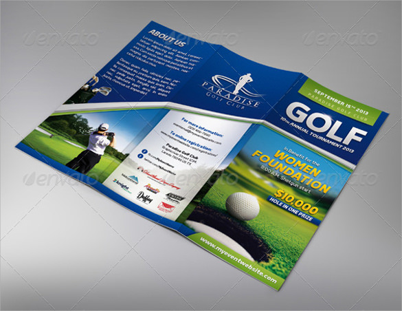 event trifold template
