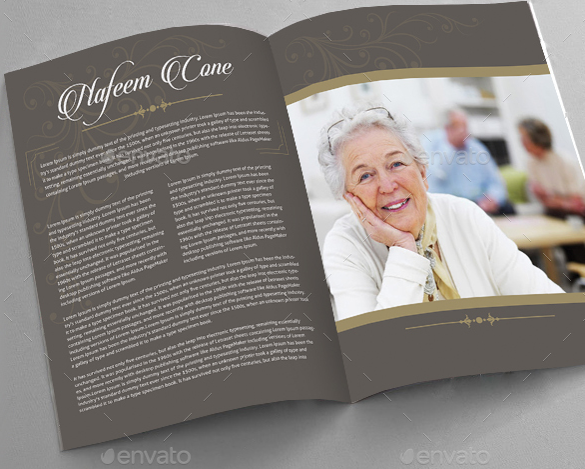 19 funeral brochure templates sample templates for Funeral brochure template