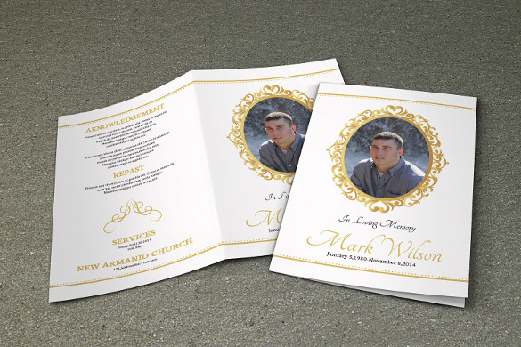 19 funeral brochure templates sample templates for Funeral brochure templates free
