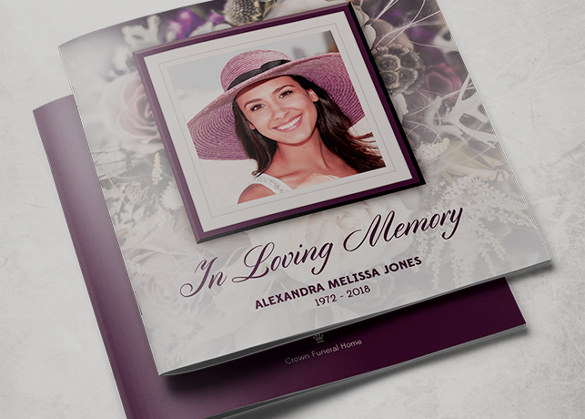 19 funeral brochure templates sample templates for Funeral leaflet template free