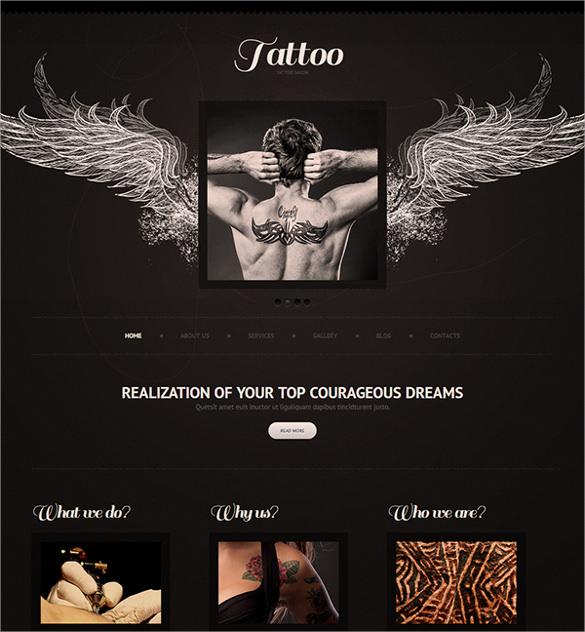 artist salon joomla template   75 joomla template for tattoo artist VTUmWOXy