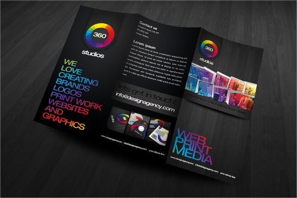 modern creative brochure