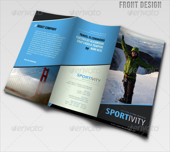19 modern brochure designs sample templates for Modern brochure design templates