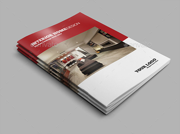 modern home design brochure