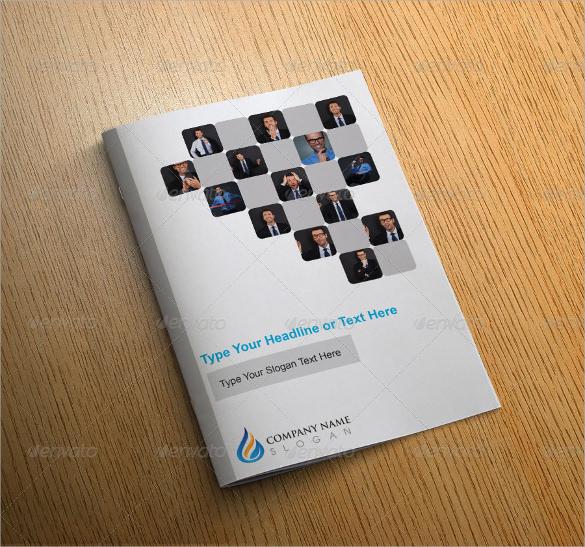 modern bi fold brochure design