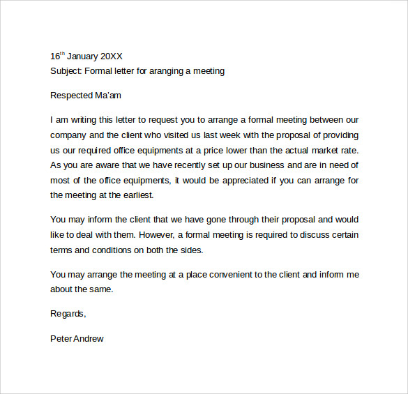 Proper Letter Format Formal Business Letter Format Official Sample