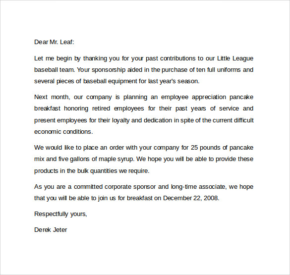 13 formal letter formats samples examples formats sample