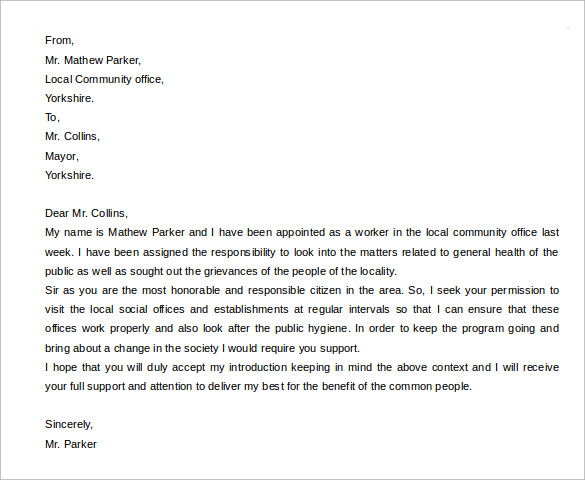 samples of resignation letters sample letter to introduce yourself to new colleagues via 3709