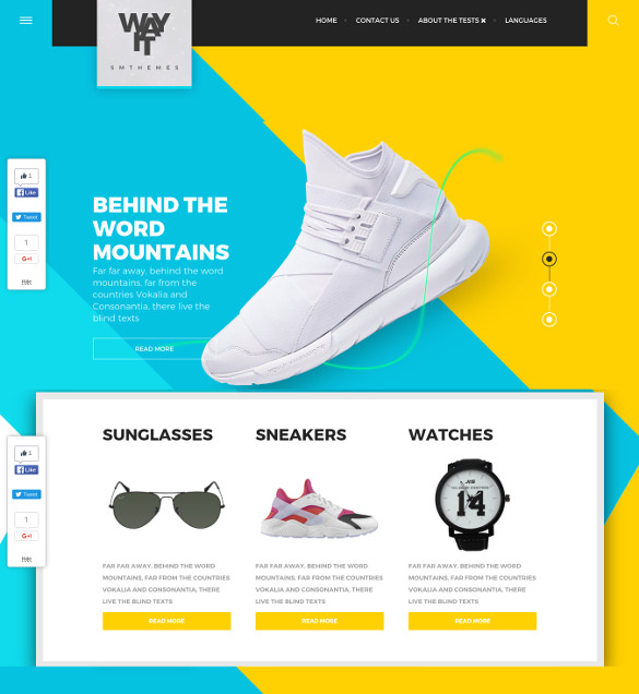 51  Free WordPress Themes   Templates In 2016 Sample Templates LbkwpbIl