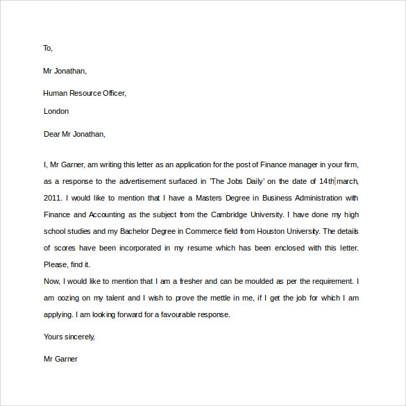 Elegant Format For Professional Letters On Professional Letter Format