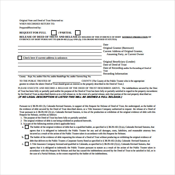 Deed Lien Release Form Printable,Lien.Printable Coloring Pages