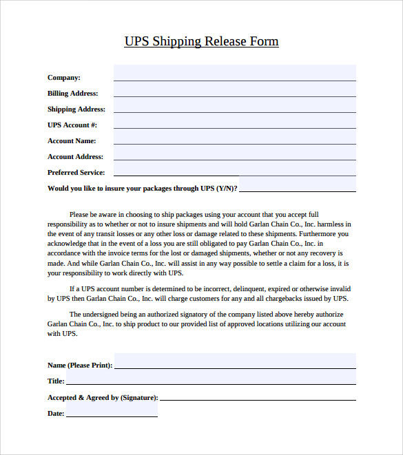 Ups Signature Release Form 9 Free Documents In Pdf ~ Ups Signature ...