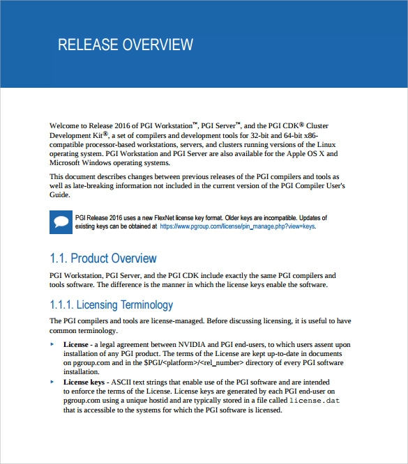 Sample Release Notes 7 Documents in PDF – Release Notes Template