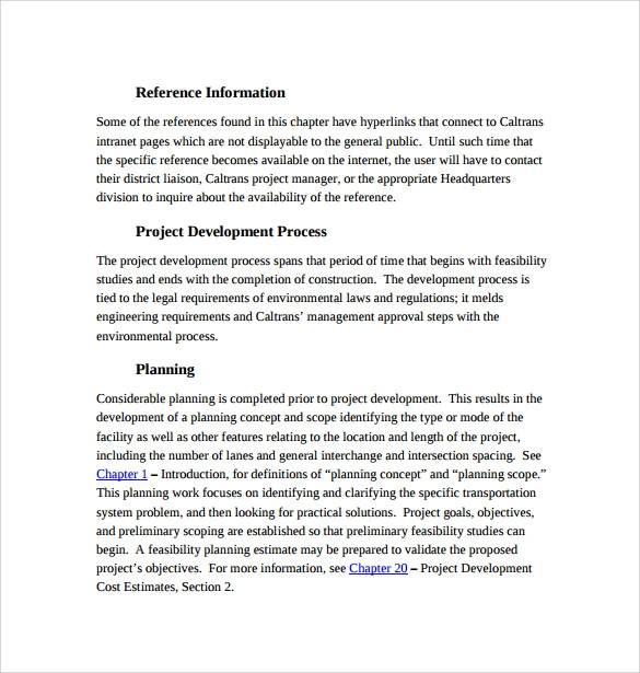overview of project development pdf