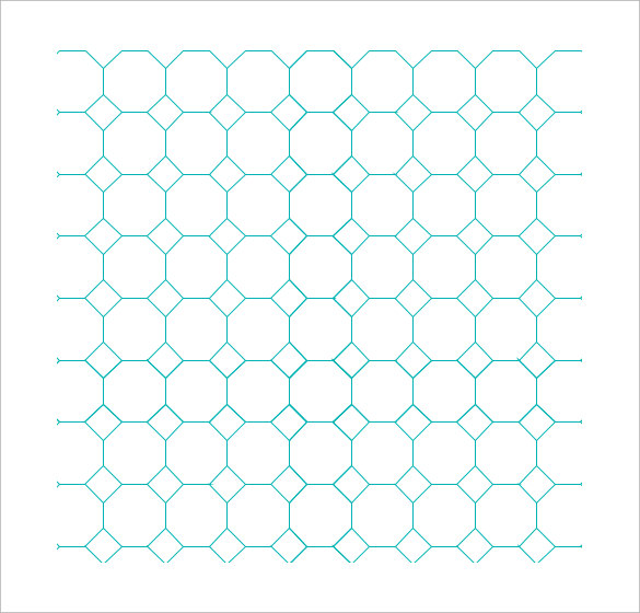 Sample Octagon Graph Paper   Documents In Pdf