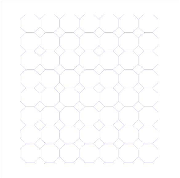 downloadable octagon graph paper