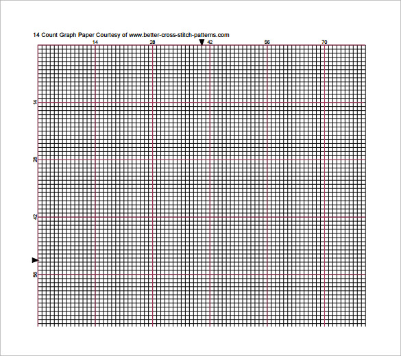 printable cross stitch graph paper for free