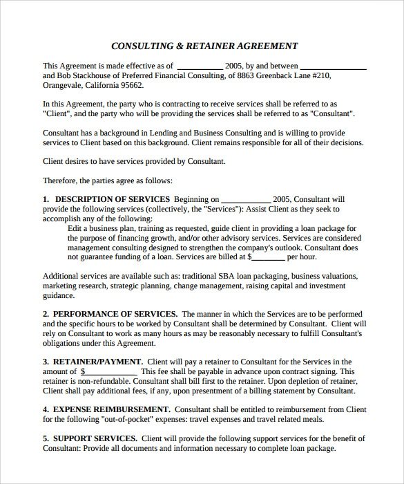 business investment contract template free .