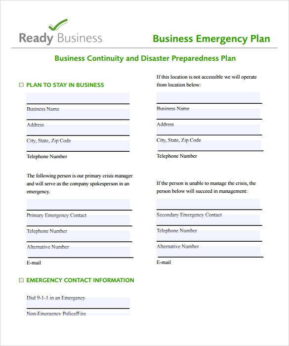 Business Action Plan Template PDF  Business Action Plan Template