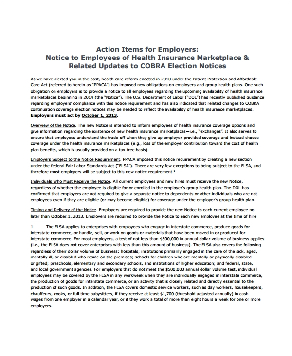 Sample Employee Action Plan - 9+ Documents in PDF
