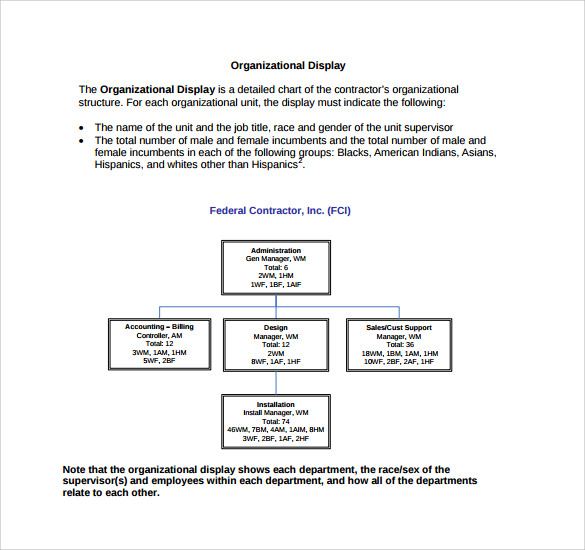 Affirmative action plan template 9 download documents for Affirmative action policy template