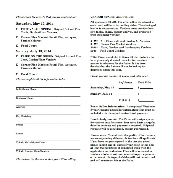 Vendor Contract Template - 7+ Download Free Documents In Pdf, Word