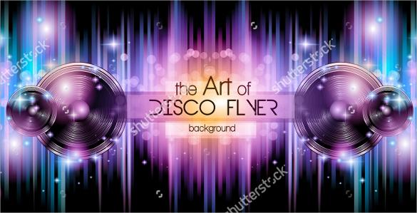 attractive disco flyer1