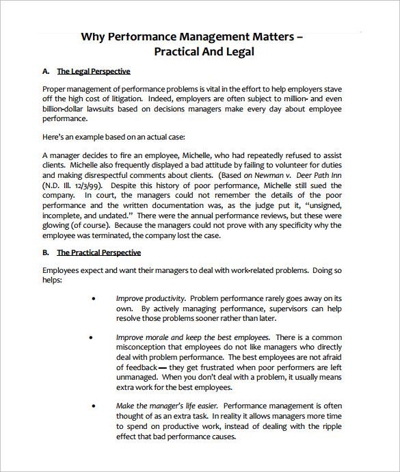 performance management action plan template - employee action plan template 8 download documents in pdf