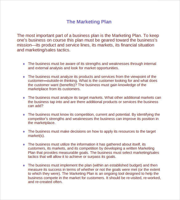 Marketing Action Plan Template - 9+ Download Documents in ...