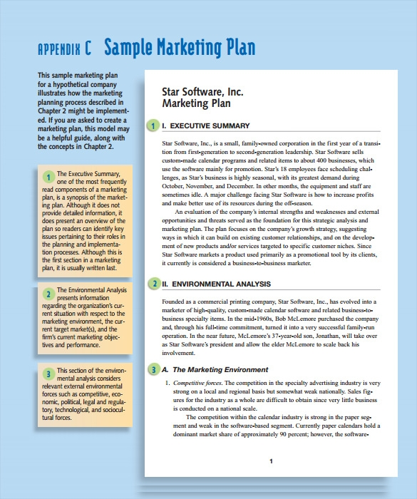 Sample Marketing Action Plan Template - 8+ Documents In Pdf