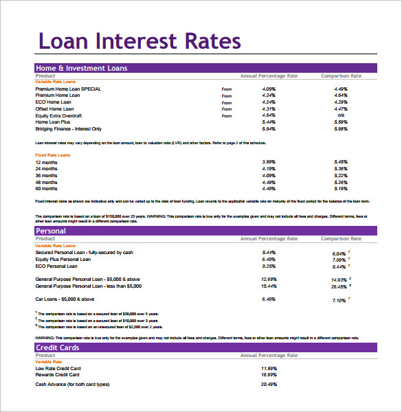 loan interest calculator pdf