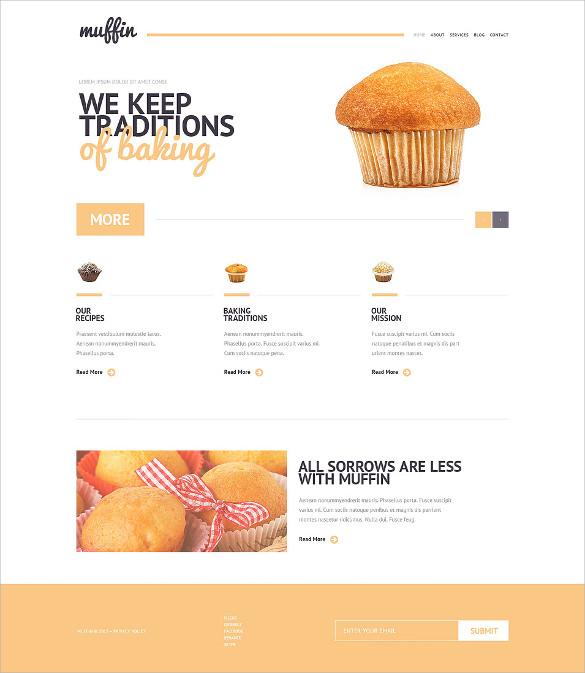 20  Bakery WordPress Themes   Templates Free   Premium Templates d5gg8qQT