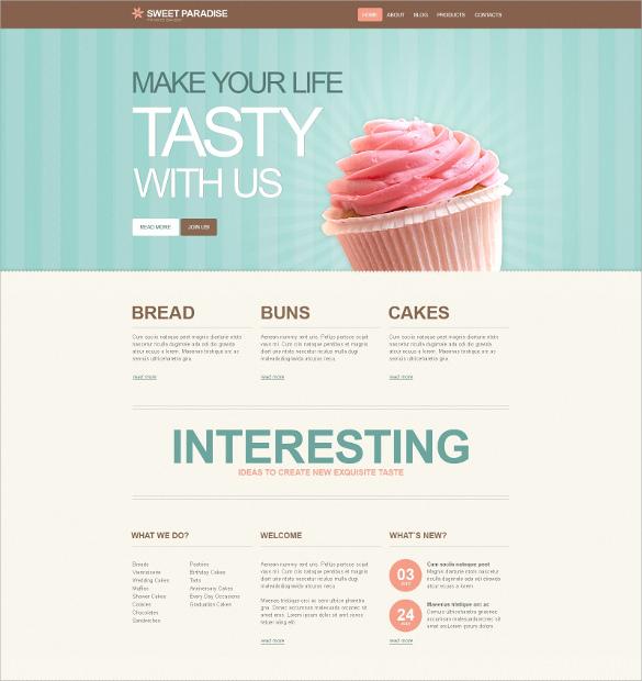 20  Bakery WordPress Themes   Templates Free   Premium Templates cPpdRDUy