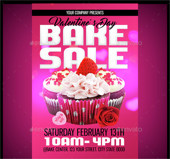 Bake Sale Flyer Template 19 Download In Vector Eps Psd