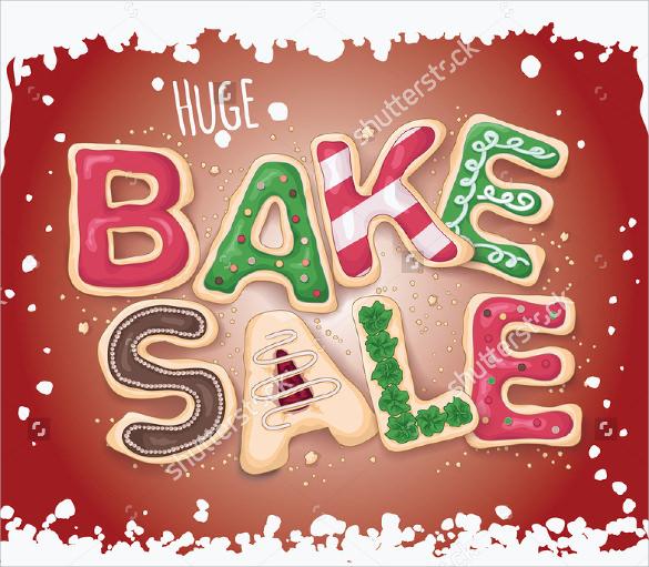 creative bake sale flyer