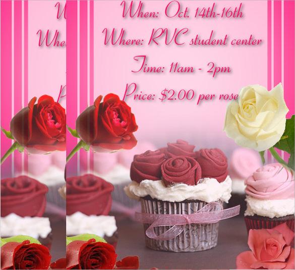 amazing bake sale flyer