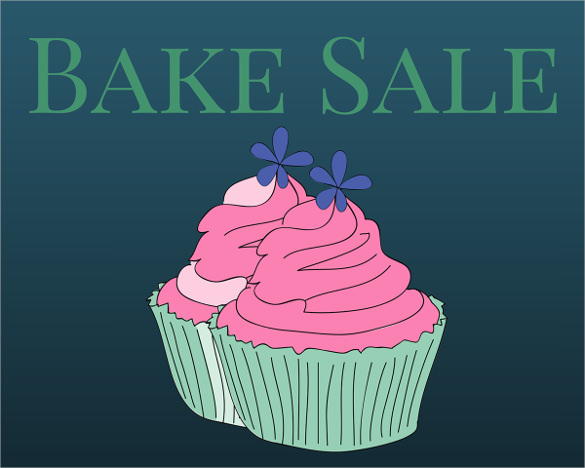 24  bake sale flyer templates