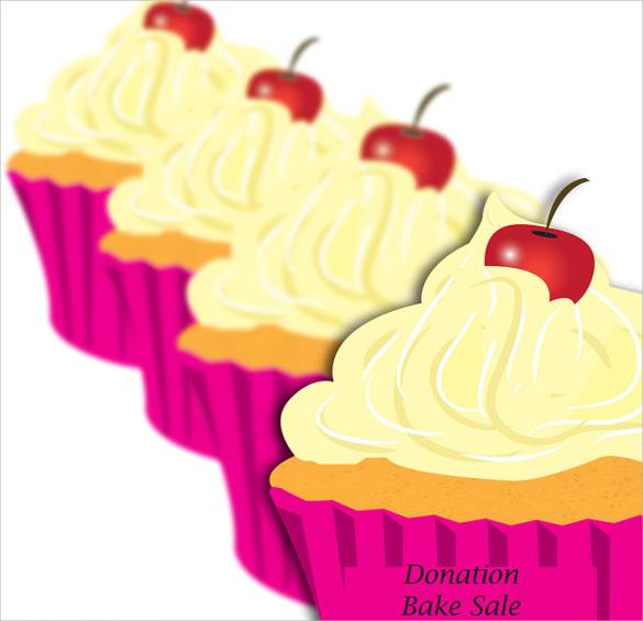 design of bake sale flyer