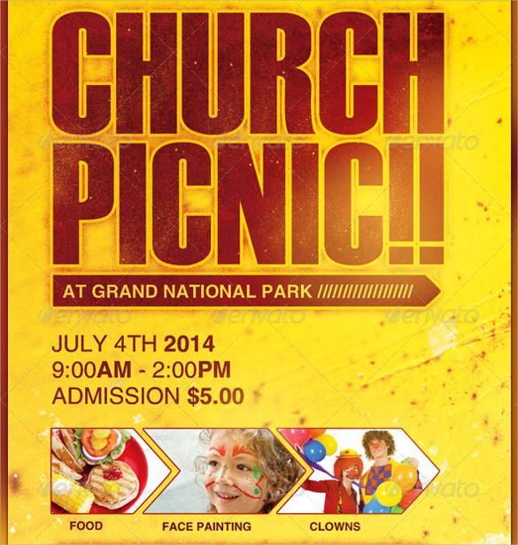 amazing picnic flyer