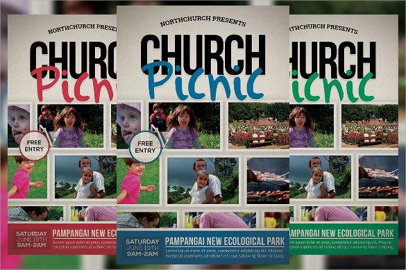 attractive picnic flyer1