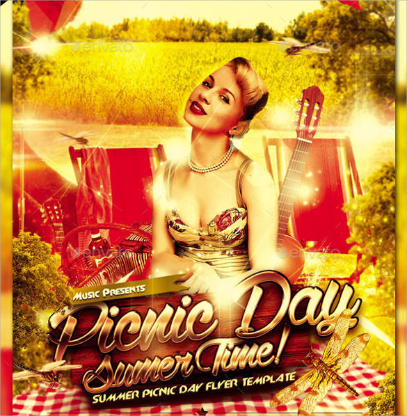 21  picnic flyer templates