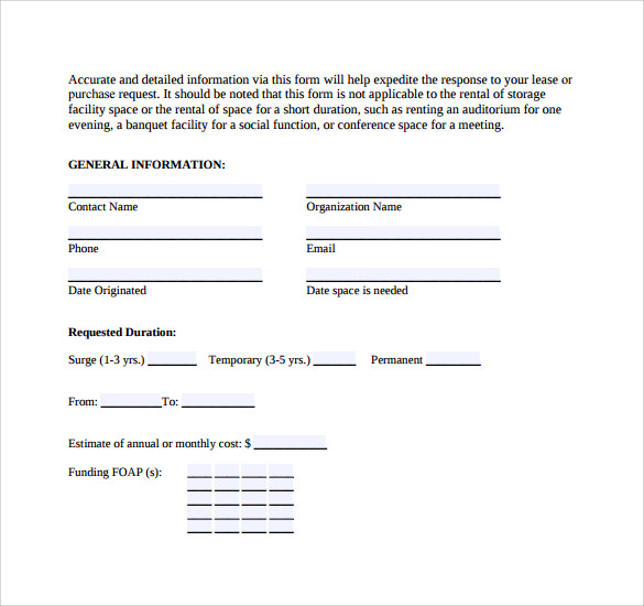 9 Real Estate Rental and Lease Form Templates to Download | Sample ...