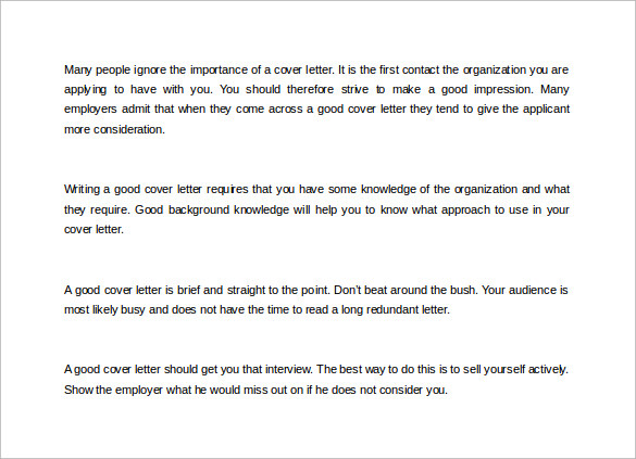 How Do You Write A Good Cover Letter | Resume Cv Cover Letter