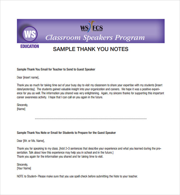 thank you notes for teacher pdf template free download